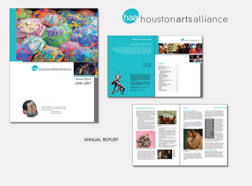 Annual Report for Houston Arts Alliance