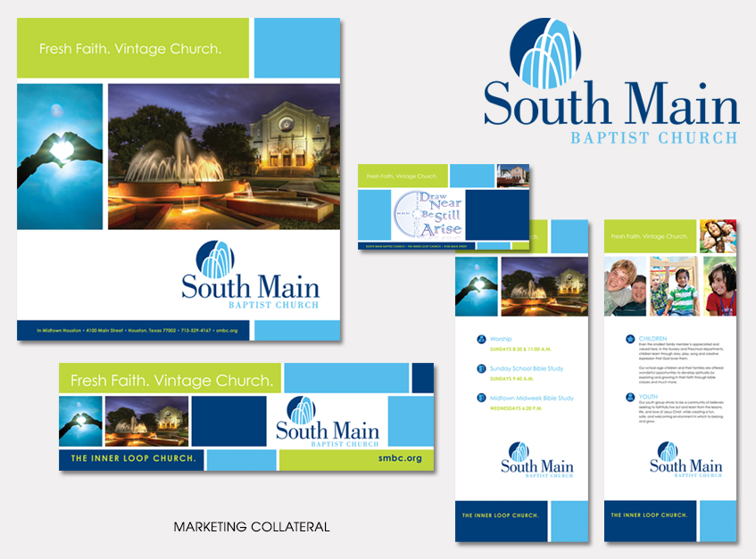 Marketing Collateral for South Main Baptist Church