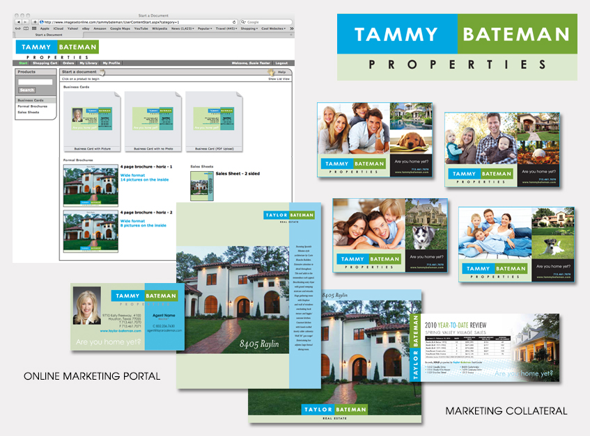 Online Marketing Portal for Tammy Bateman Properties