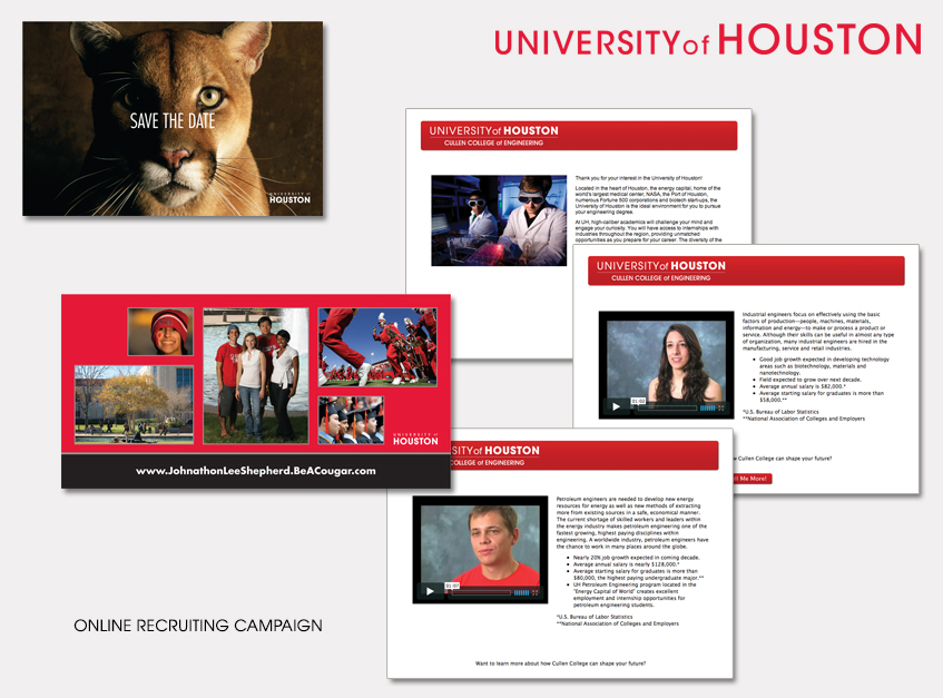 Online Recruiting Campaign for University of Houston