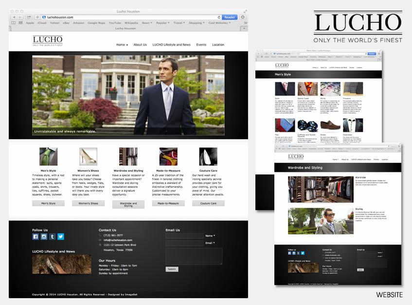Website for LUCHO Houston