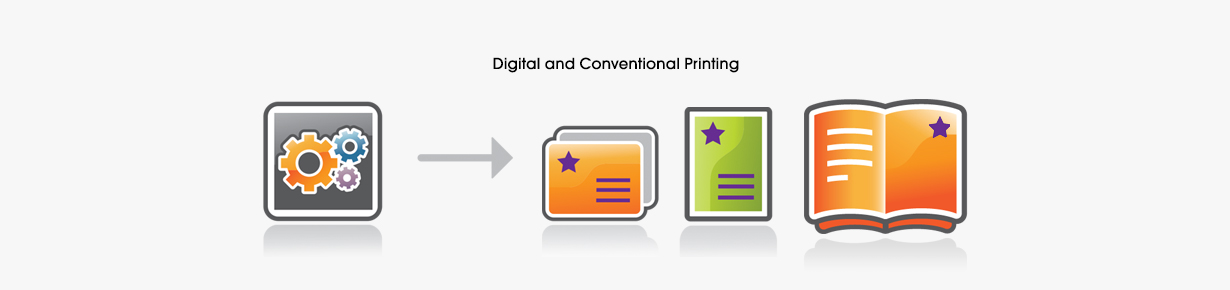 Digital and Conventional Printing